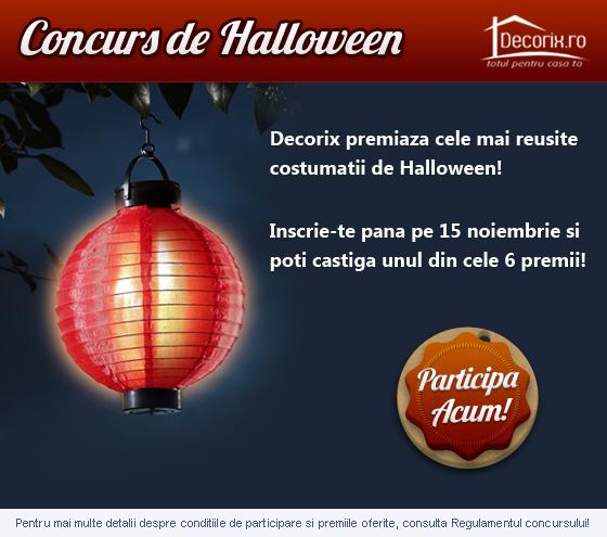 Concurs Decorix Costume de Halloween